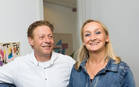 Edwin Jansen en Mayke Nillesen van Advice Assurantiën in Beuningen